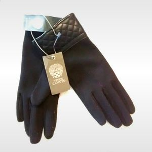 Vince Camuto Accessories - Vince Camuto Quilt Stitch Gloves Lined